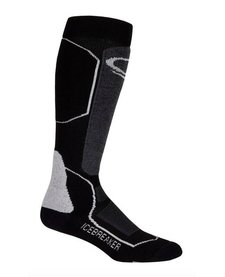 Icebreaker Mens Ski+ Medium Otc Black/Oil/Silver -A73 (17/18)