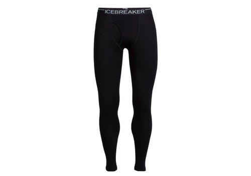 ICEBREAKER Icebreaker Mens Tech Leggings W Fly Black -1 (17/18)