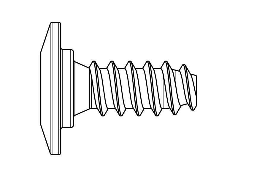 HEAD HEAD SCREW FOR FREEFLEX BINDING CONNECTION 5,5 X 8,2 (Single)