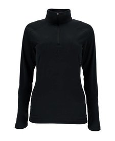 Spyder Womens Shimmer T-Neck Black -001 (17/18)
