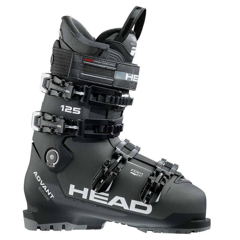 HEAD Head Mens Advant Edge 125 Ski Boot Anthracite/Blk - (17/18)