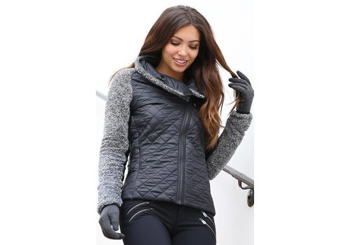 ALP-N-ROCK Alp-N-Rock Adriana Fleece Jacket Black -blk (17/18)