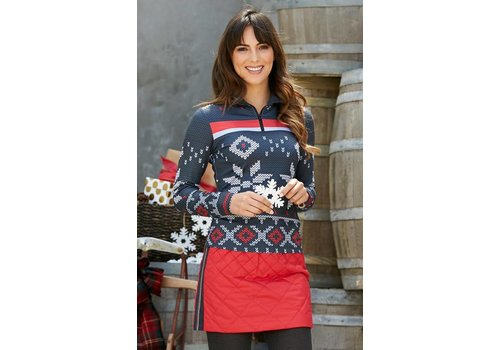 ALP-N-ROCK Alp-N-Rock Annika Base Layer Top Swiss Red -swr (17/18)