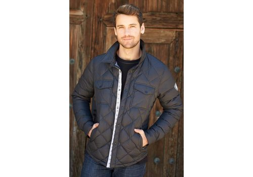ALP-N-ROCK Alp-N-Rock Outdoorsman Men's Shirt Jacket Black -Blk (17/18)