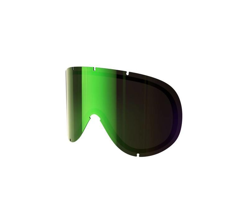 Poc Retina Spare Lens - persimmon/green mirror