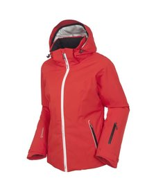 Sunice Womens Elevation Laura Jacket Ecri 202 Crimson - (17/18)