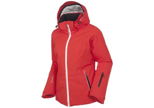 SUNICE Sunice Womens Elevation Laura Jacket Ecri 202 Crimson - (17/18)