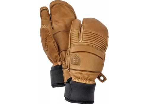 HESTRA Hestra Leather Fall Line 3-Finger Mitt Cork -710 (17/18)