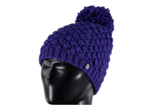 SPYDER Spyder Womens Brrr Berry Hat 405 Blue My Mind - (17/18) ONE SIZE