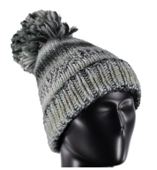 SPYDER Spyder Womens Twisty Hat 001 Black/White/Limestone - (17/18) ONE SIZE