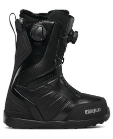 32 Womens Lashed Double Boa W'S '17 Snowboard Boot Black -001 (17/18)