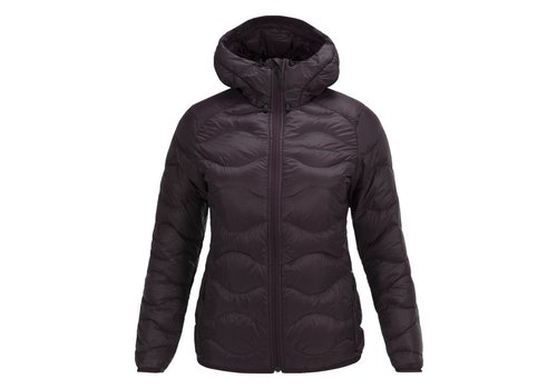 PEAK PERFORMANCE Peak Performance Womens Helium Hood Jacket Mahogany -1T2 (17/18)