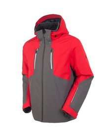 Sunice Mens Heli Insulated Jacket Cha 714 Carbon/Merlot - (17/18)