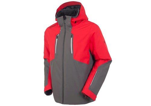 SUNICE Sunice Mens Heli Insulated Jacket Cha 714 Carbon/Merlot - (17/18)