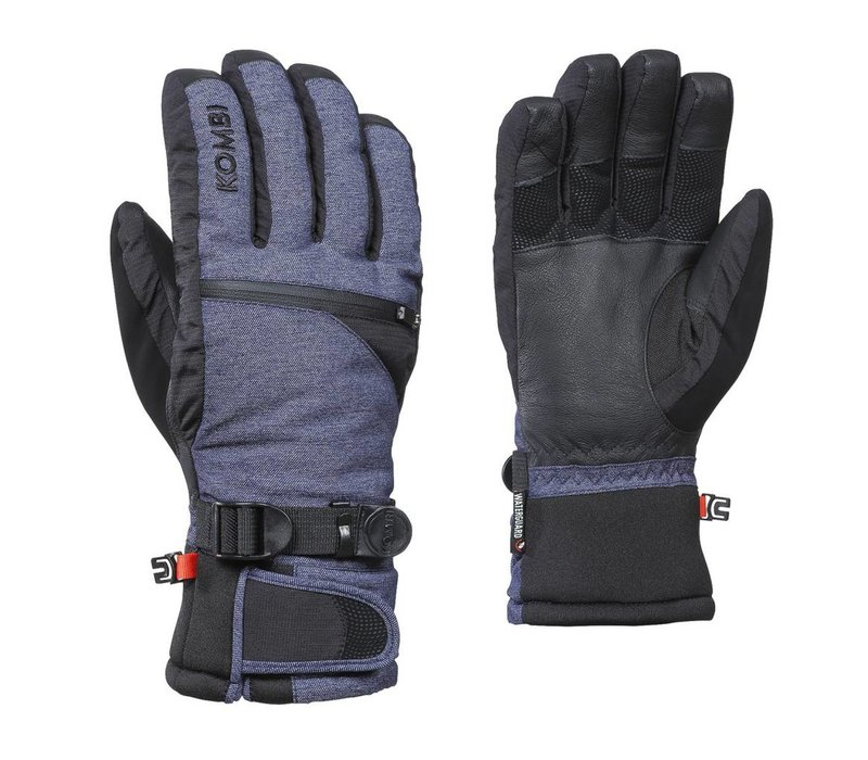 Kombi The Freerider Mens Glove 1601 Blue Jeans - (17/18)