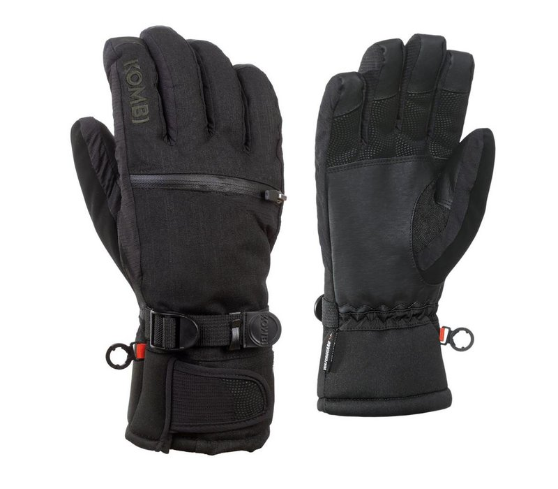 Kombi The Freerider Mens Glove 1184 Black-Tonal Plaid - (17/18)