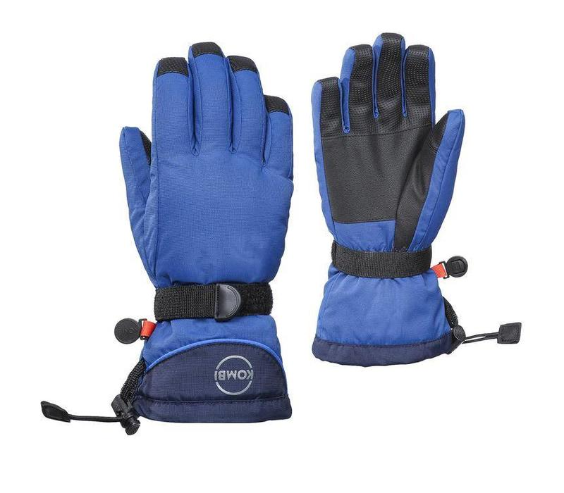 Kombi The Basic Junior Glove 3180 True Blue-Black Iris - (17/18)