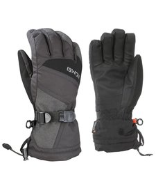 Kombi The Original Mens Glove 4279 Black-Black Denim - (17/18)