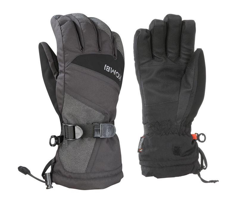 Kombi The Original Mens Glove 4279 Black-Black Denim - (17/18)