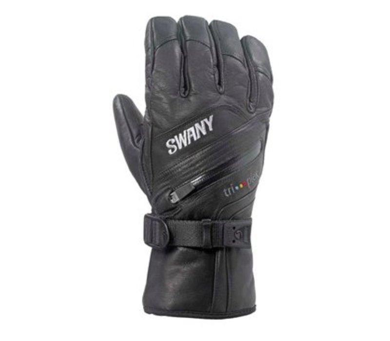 Swany Mens X-Clusive Glove Black -001 (17/18)