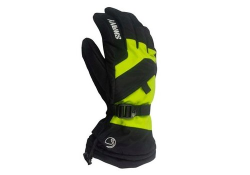 SWANY Swany Mens X-Over Glove Black/Lime -398 (17/18)