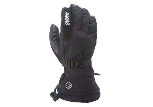 SWANY Swany Mens X-Over Glove Black -001 (17/18)