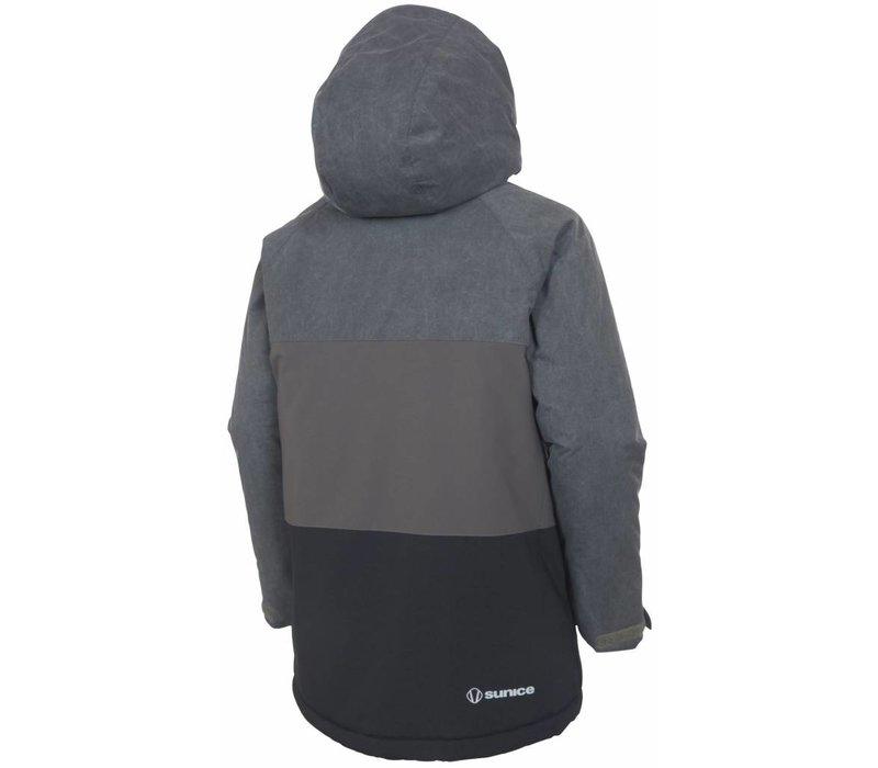 Sunice Boys Emmett Technical Jacket Blkcha 715 Black Combo - (17/18)