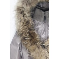Ookpik Womens Contessa Natural Coat Stone - (16/17)