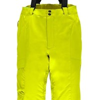 Spyder Mens Troublemaker Tailored Pant 730 Bryte Yellow - (17/18)