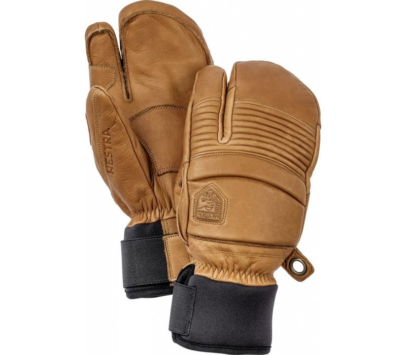Hestra Leather Fall Line 3-Finger Mitt Cork -710 (17/18)