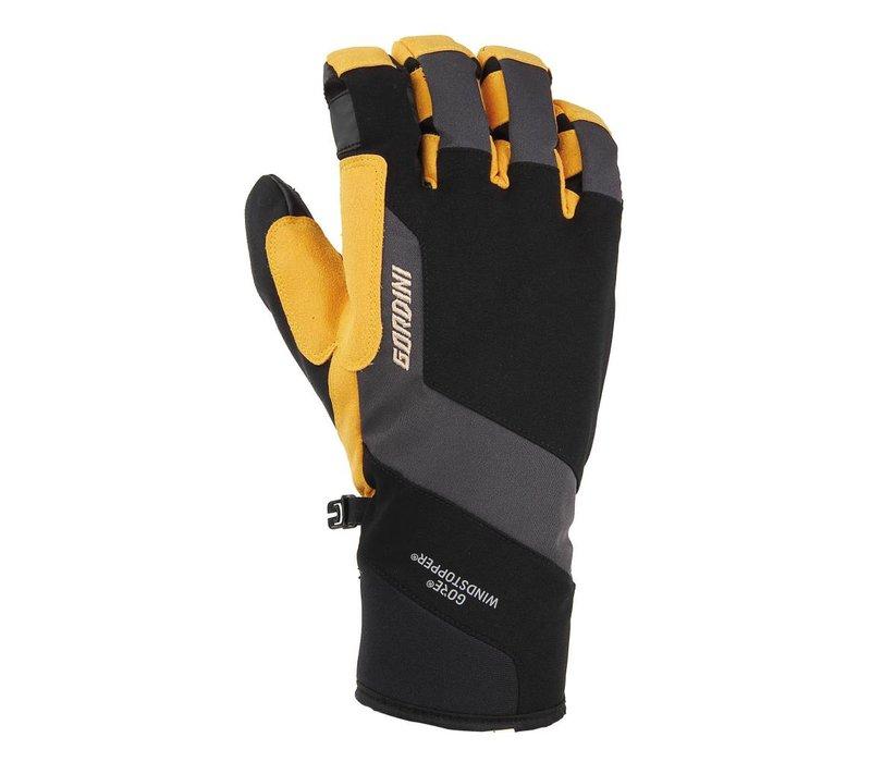 Gordini Swagger II Mens Glove Black-Gunmeatl-Wheat -1112 (17/18)