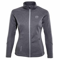 Rossignol Womens FZ Clim Jacket Heather Grey - 280 (16/17)