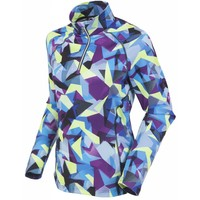 Sunice Womens Ski Lodge Lightweight Thermal Pullover Ind1 328 Geo Mountain Indigo - (17/18)