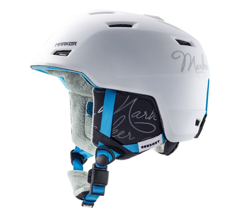 Marker Womens Consort Helmet White - (16/17)