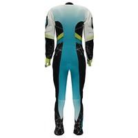 Spyder Womens Nine Ninety Race Suit 449 Baltic/Black/Bryte Yellow - (17/18)