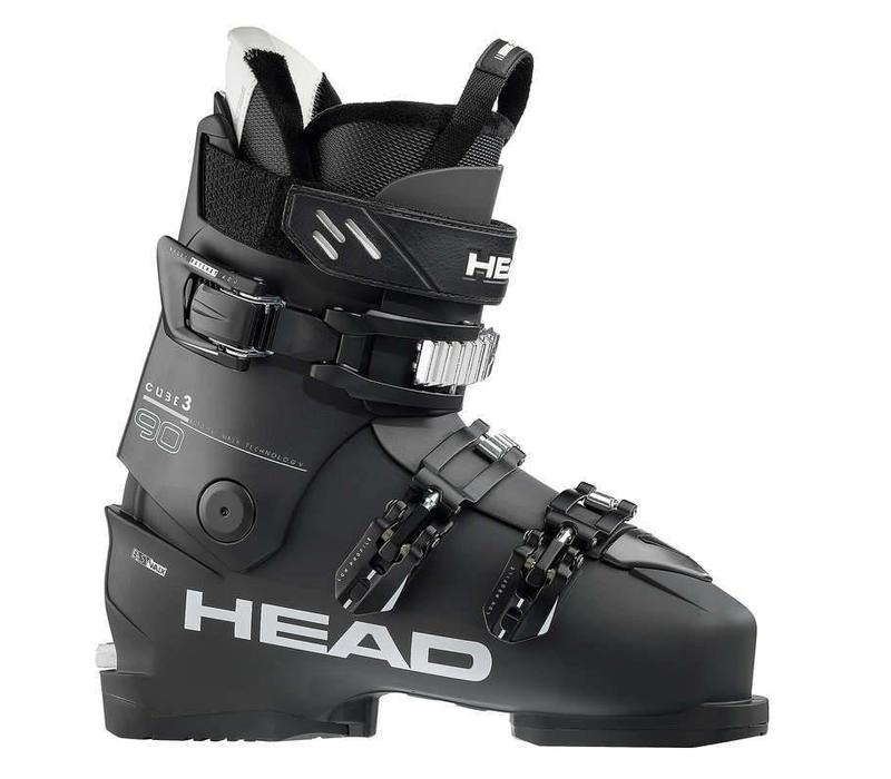 Head Mens Cube 3 90 Ski Boot Blk/Anth - (17/18)