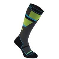 Bridgedale Junior Mountain Junior Sock Grey/Green -068 (17/18)