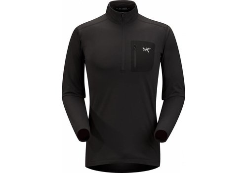 ARC'TERYX Arc'Teryx RHO LT Zip Neck Mens Black