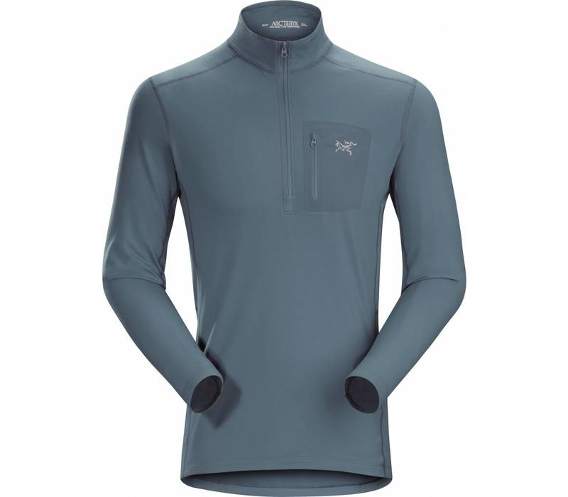 Arc'Teryx RHO LT Zip Neck Mens Neptune