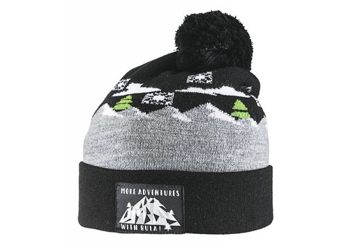 BULA BULA KIDS WINTER BEANIE BLACK
