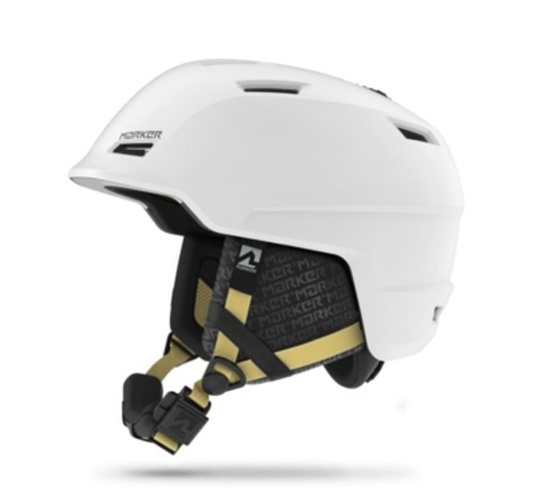 Marker Womens Consort W 2 White Helmet - (17/18)