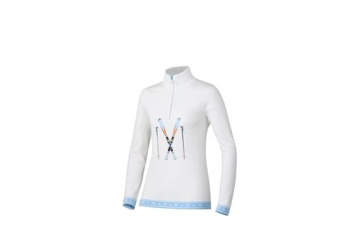NEWLAND Newland Sirio Half Zip White/Light Blu (117)