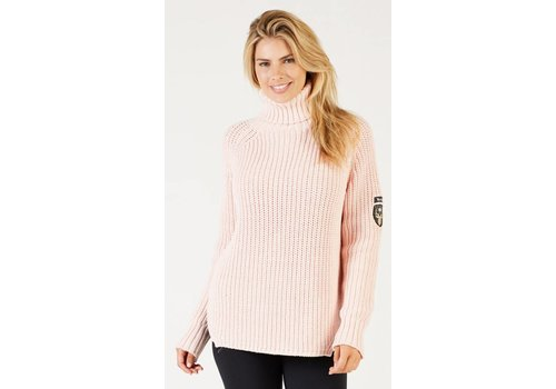 ALP-N-ROCK ALP-N-ROCK NOELLE T-NECK SWEATER VEILED ROSE-VLR