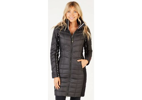 ALP-N-ROCK ALP-N-ROCK VERBIER LADIES LONG COAT BLACK-BLK