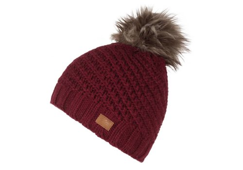 JUPA JUPA JUNIOR GIRLS EVA KNIT HAT CHERRY PUDDING-RD003