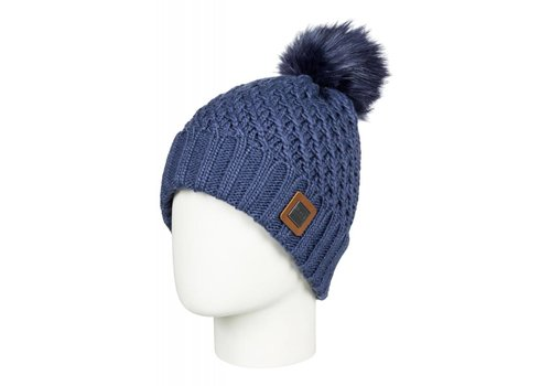 ROXY ROXY BLIZZARD BEANIE    BQY0  CROWN BLUE