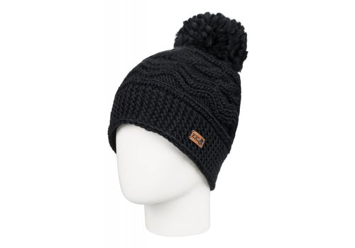 ROXY ROXY WINTER BEANIE    KVJ0  TRUE BLACK