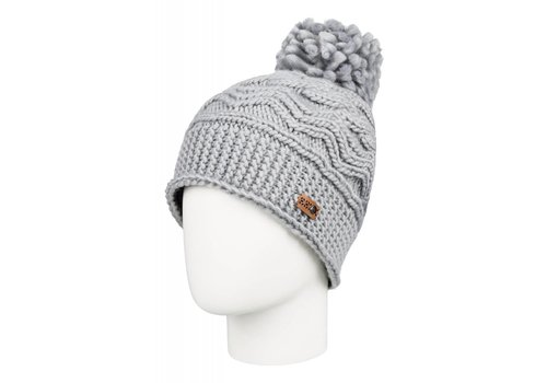 ROXY ROXY WINTER BEANIE    SJEH  WARM HEATHER GREY