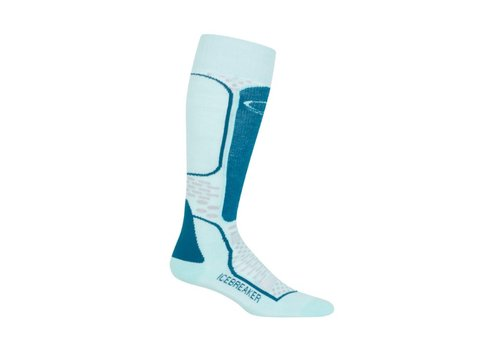 ICEBREAKER ICEBREAKER WMNS SKI+ LIGHT OTC DEW/SMOKE/KINGFISHER-406