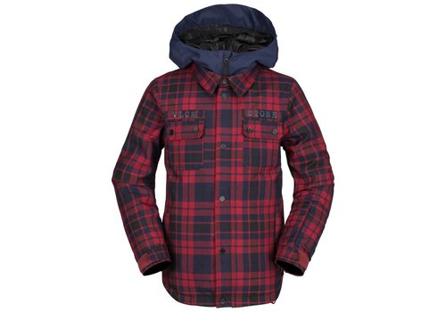 VOLCOM VOLCOM NEOLITHIC INS JACKET RED-RED (600)
